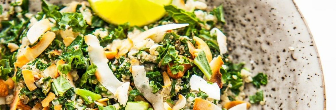 This eastern kale salad makes your mouth water