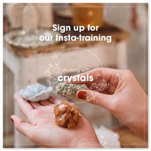 Working with Crystals sign up for the course