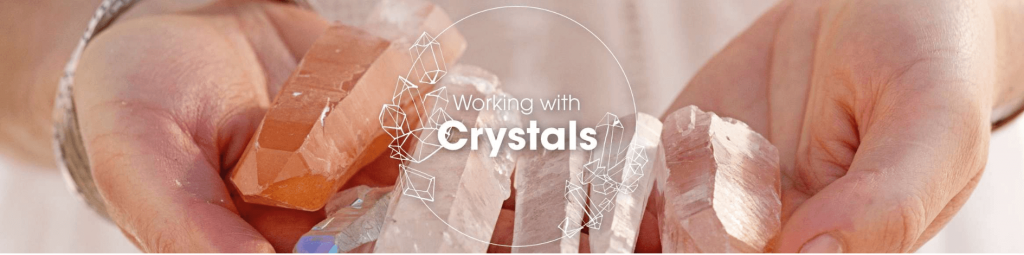 working with crystals